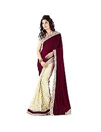 RUHANI Women's Saree Sari Designer Indian Dress Bollywood Ethnic Party