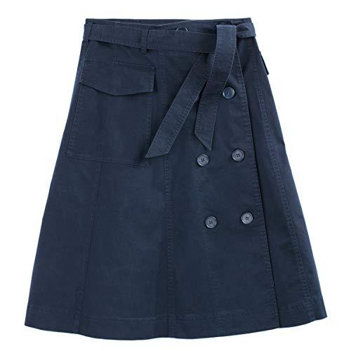 La Redoute Womens Flared Midi Skirt Blue Size US 12 - La Redoute Skirt