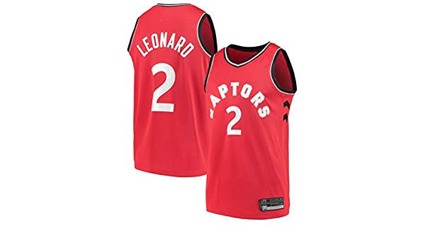 Fan Shop PADT Men_Youth_Kawhi_Leonard_Jersey_#2_Toronto_Raptors_Red_Icon Swingman Jerseys Kids Boys