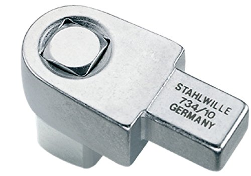 1//2 Zoll f/ür Werkzeugaufnahme 9 x 12 mm Stahlwille 58240010 734 Vierkant-Einsteckwerkzeuge Gr 10