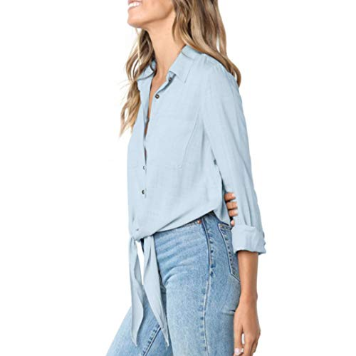50a8744ecdfd4 Cálida Superior Blusa De Estampado 2 Gasa Streetwear Casual Mujer Tops Para  Manga Irregular sonnena Camiseta Floral ...