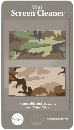 Mini Screen Cleaner - Camouflage
