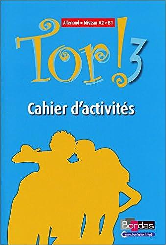 Lire Tor ! 3 Niveau - Allemand - Niveau A2 > B1 - Cahier d'activités epub, pdf