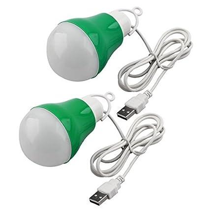 eDealMax DC3-12V 5w luz de la noche lámpara que acampa Aparición del bulbo cable