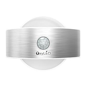 Lámpara Nocturna, OxyLED T-03S – Luz nocturna automática y constante, lámpara con