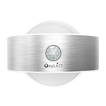 Et Oxyled Murale Luminaire De Veilleuse Avec Applique Lampe Extérieur Mode Automatique Interieur T 14 03s Mouvement Constante Led Détecteurs iPkZuOXT