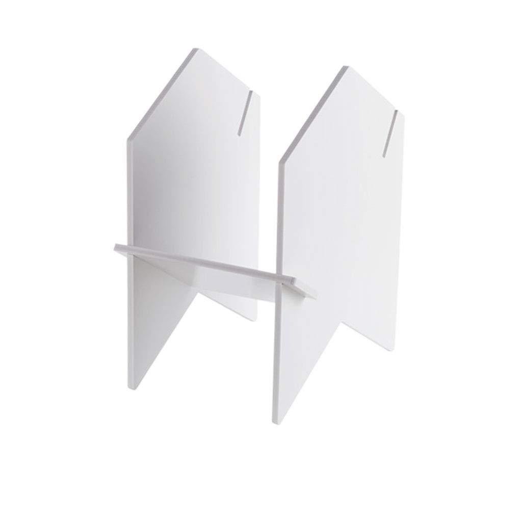 mejor calidad mejor precio Small QARYYQ Rack De Almacenamiento De Estante para para para Libros De Escritorio Rack De Almacenamiento De Libros De Escritorio blancoo Soporte de Libro (Talla   Small)  nueva gama alta exclusiva
