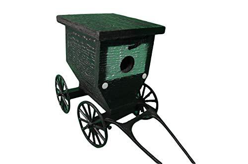 Painted Amish Buggy - Birdhouse - Amish Buggy Birdhouse