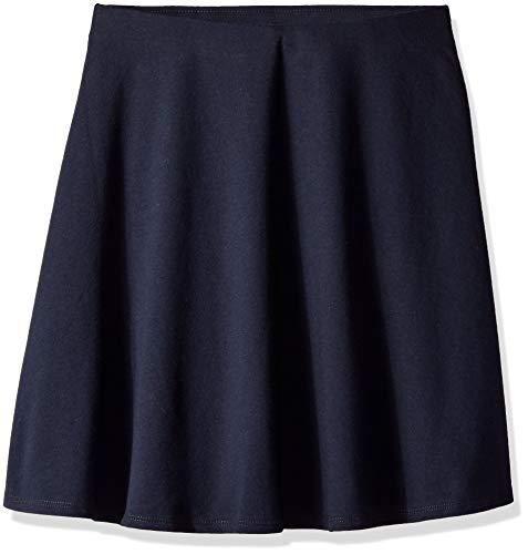 Nautica Juniors School Uniform French Terry Skater Skirt, su Navy Large 11