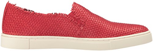 Frye Vrouwen Klimop Fray Geweven Slip Mode Sneaker Poppy