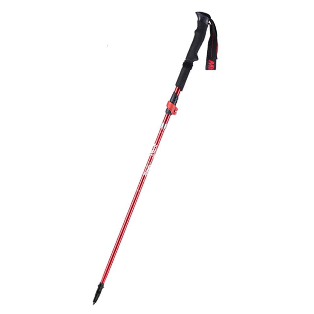 Trekking Stock Stick Falten Teleskop Ultraleicht Carbon Fiber Gehstock Cross Country Stick Stock Gehstock Carbon Outdoor-Ausrüstung 098c6c