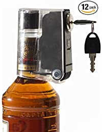 Want 12 Pack Tantalus Wine/liquor Bottle Lock Liquid Bottle Locks Keeps Hooch Out of the Wrong Hands deal