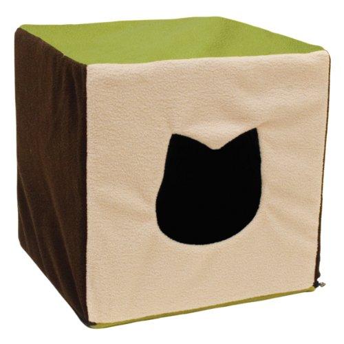 - Ware Manufacturing Comf-E-Cube Kitty Condo 1-Level Cat Hideout