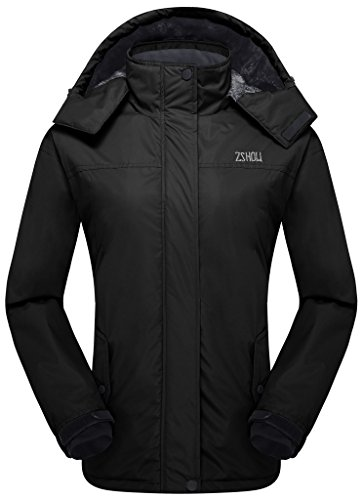 Black Snowboarding Jacket - 7