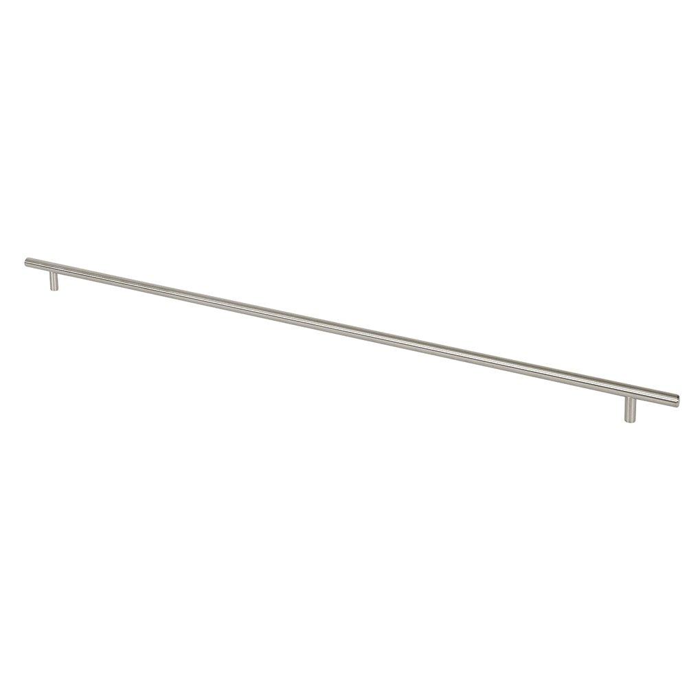 Prime-Line Products KD 17510 Bar Pull 24-Inch OL x 21-Inch CC x 12mm Dia Satin Nickel