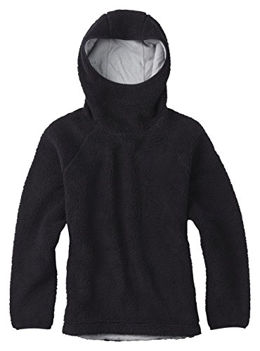 Burton Women's Lynx Pullover Fleece, True Black, (Bonded Fleece Pullover)