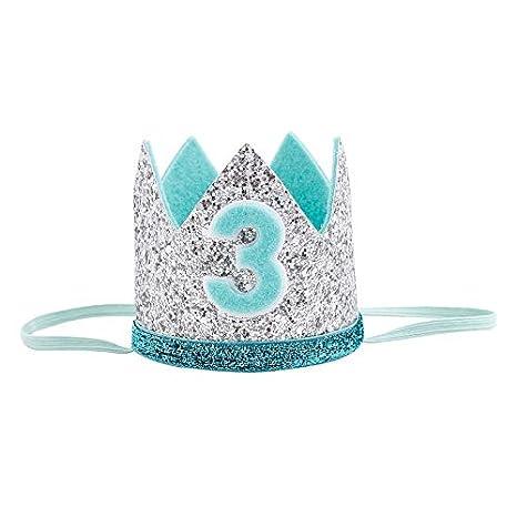 Amazon.com: MAGA - Gorro de 1 cumpleaños para niño, diseño ...