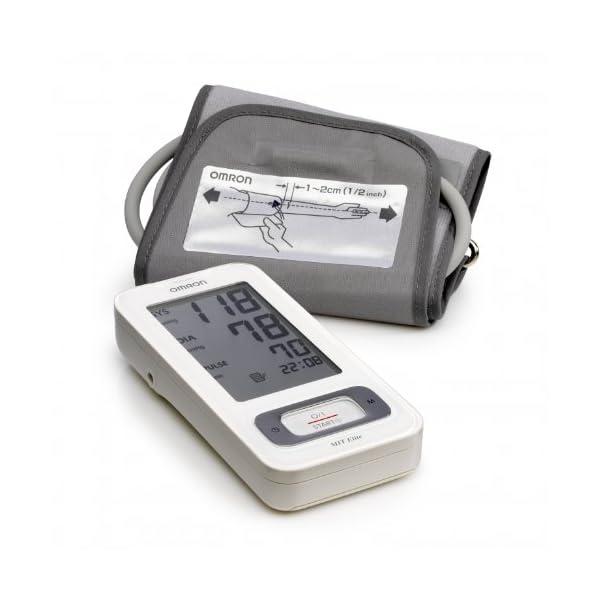 OMRON MIT Elite - Tensiómetro de brazo, detección del pulso arrítmico, tecnología Intellisense para dar lecturas rápidas y precisas 2