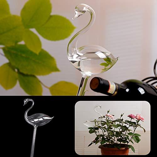 JWBOSS Pointe DArrosage des Plantes Forme de Flamant Rose Piquet deau Automatique pour LIrrigation Goutte /À Goutte pour LArrosage Et La D/écoration de Plantes en Pot de Jardin