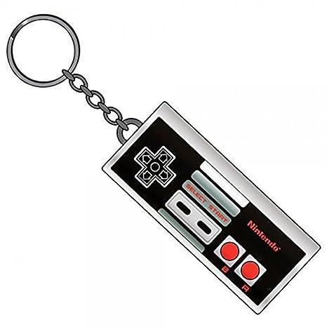 Amazon.com: Nintendo NES Controller Llavero metal Llavero ...