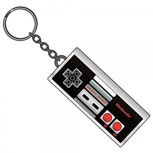 Nintendo NES Controller Keychain Metal Keyring -