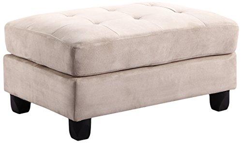 Glory Furniture G631-O Living Room Ottoman, Beige