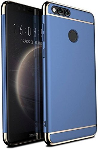 buy popular 57cbe c60b3 Fleejost Honor 7X Back Case Cover 3-in-1 Shockproof*: Amazon.in ...