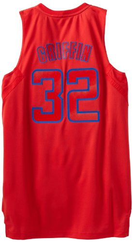 NBA Los Angeles Clippers Winter Court Big Color Swingman Jersey, #32 Blake Griffin, Red, XX-Large