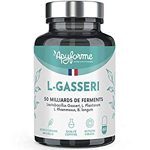 Lactobacillus Gasseri – Jusqu'à 50 Milliards d'UFC/Jour – Gélules Gastro-Résistantes – 100% FRANÇAIS – 30 Jours 60 gel…
