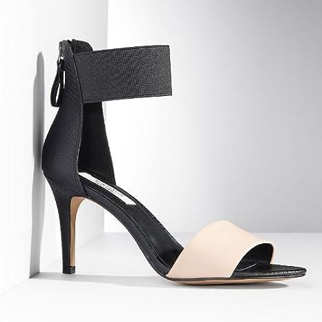 Simply Vera Vera Wang Black Ankle Strap