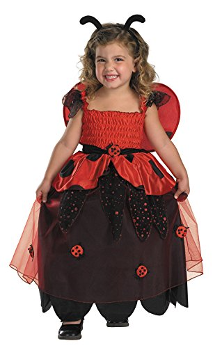 Love Bug Costume Baby (UHC Baby Girl Bugz Lil Love Ladybug Toddler Child Fancy Dress Halloween Costume, 1-2T)