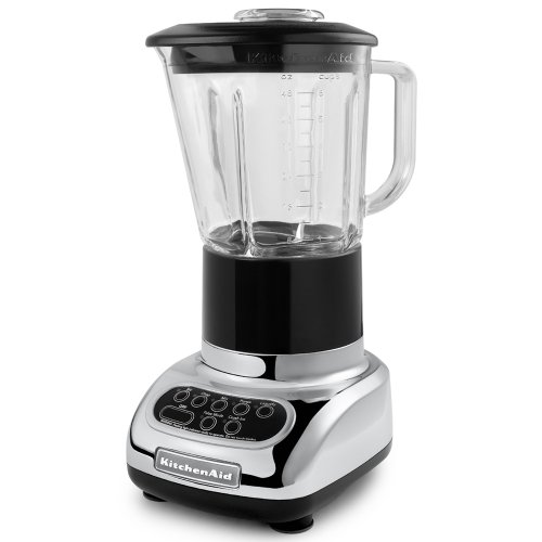 KitchenAid 5-Speed Blenders with 48-Ounce Glass Jars, Chrome