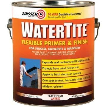 1 Gallon Watertite Flexible Primer and Finish - White 2/Cs