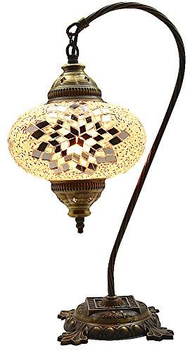 Table Lamp,Swan neck,Lamp Shade,Arabian Mosaic Lamps, Moroccan Lantern, Chandelier,Turkish Light, Hanging Lamp, Mosaic lighting,Flooring Light]()