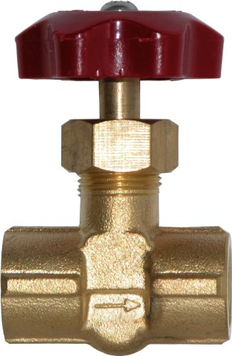 Winters SNV Series Brass Needle Valve with ABS Plastic Handle, 1/4'' NPT Female by Winters Instruments