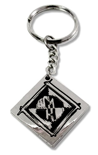 Machine Head MH Diamond Shape Logo Metal - Shape Men Diamond Head