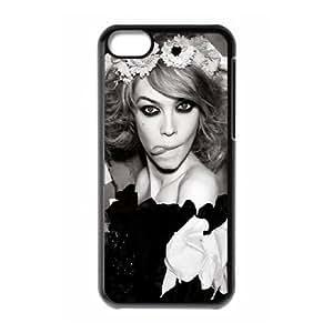 iPhone 5c Cell Phone Case Black Siri Tollerod Black And White VIU143191