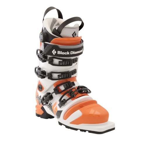 Black Diamond Push Telemark Ski Boot - Men's Orange/White, 25.0 by Black Diamond