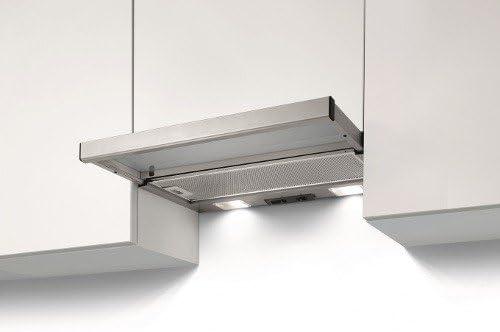 Best – Campana extractora Grupo integrado Iseo met 60 barnizado gris metalizado de 60 cm: Amazon.es: Hogar