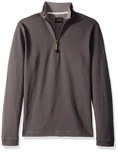 Quiksilver Waterman Men's Point Sur 3 Crew Neck Sweater, Carbon, L Quiksilver Mens Point
