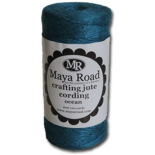 UPC 895735028265, Maya Road TC2826 Jute Craft Baker's Twine Cording, Ocean Blue