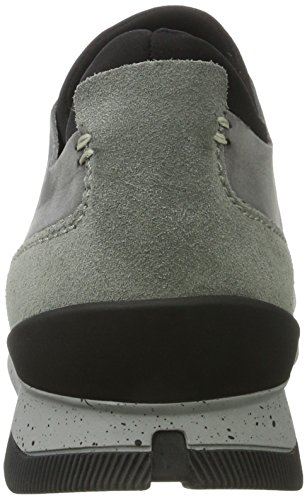 Hudson London stone Nubuck 44 Uomo Pantofole Grigio Sime rrvxwAdn