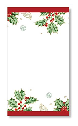 (C.R. Gibson 16 Count, 3-Ply, Paper Dinner Napkin, Measures 4.75