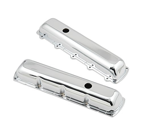 Mr. Gasket 9422 Chrome Plated Valve Cover (88 Delmont Oldsmobile)