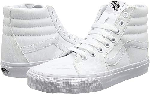 VANS Sk8-Hi Unisex Casual High-Top Skate Shoes, Comfortable and Durable in Signature Waffle Rubber Sole