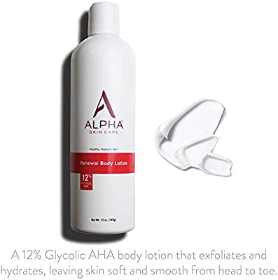 Alpha Skin Care Renewal Body Lotion 12 Glycolic Aha Supports Healthy Radiant Skin Fragrance Free And Paraben Free 12 Ounce Buy Online At Best Price In Uae Amazon Ae