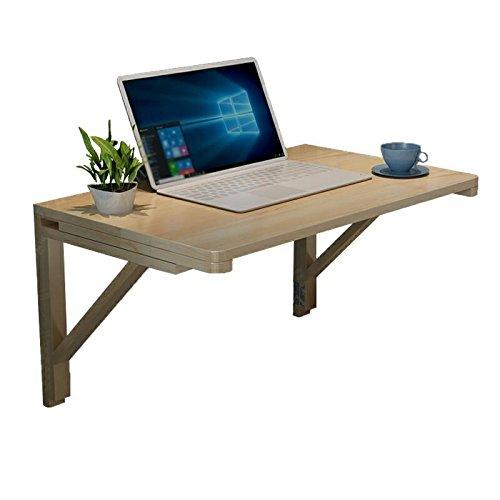 壁用の折り畳み家の壁のテーブル無垢材の壁のコンピュータデスクの壁のテーブル60 * 40センチメートル木製のワニス (サイズ さいず : 100*60cm) B07FGWJG45100*60cm