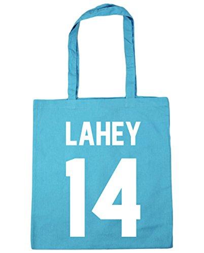 14 Beach x38cm Gym Surf Lahey Shopping Bag 42cm Blue Tote 10 HippoWarehouse litres ZXw51qn