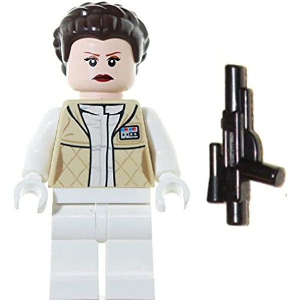 Lego Star Wars General Leia  Minifigure 100/% Real LEGO Brand New
