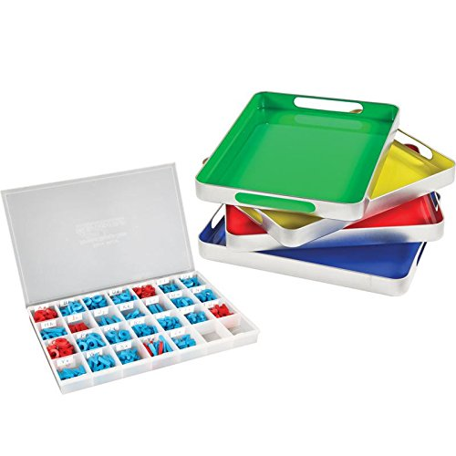 Tile Tray Kit (Really Good MAGtivity Tins And Magnetic Letters Classroom Kit)